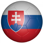 Slovakia Football Flag 58mm Button Badge